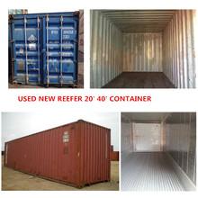 40'HC container utilizado recipiente van para venda