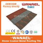 Stone coated metal roof shingle in china
