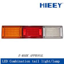 LED tail/rear lamp full combination for trucks&trailers led trailer combination light