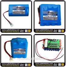 12V li ion battery 2800mah battery pack