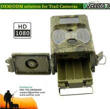 With 8 Mega Pixels Color CMOS Max 12MP Game Hunting Camera, 100 Degrees PIR Sensor Sight Angle Basic Model Without MMS