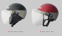 Factory price S M L XL XXL black red protective Motorcycle/Scooter helmet D305