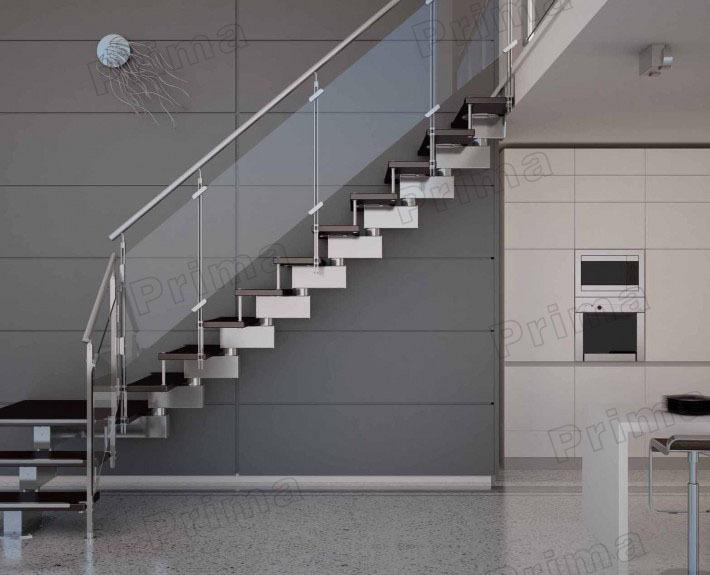사용자 정의 목재 계단 유리 난간 난간 야외 계단 계단 유리 난간 ...
