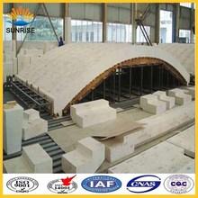 Glass Furnace Used AZS Refractory Firebrick