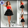 EDQ011 2013 Wholesale Worked Tulle Evening Dress Red Short