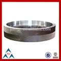 Hot! Hot! Hot! China oem personalizado forjado anel da engrenagem para o misturador de cimento