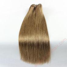 Slik straight dark brown hair weave top malaysian hair