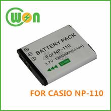 NP-110 NP110 Camera Battery for Casio EX-Z2300 EX-ZR10 EX-Z200 EX-ZR10 EX-ZR20 EX-FC200S