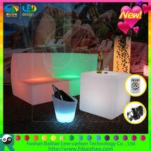Hot sale led sofa/ led bar table/ nightclub/ led furniture