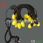 110v/220v low power outdoor patio string light for christmas decor