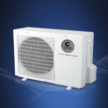 Air source wall mounted heat pump water heater split type r410a