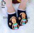 ultimo il fare ordine nero inverno caldo simpatico cane calzini del bambino 3d anti calze antiscivolo bambino