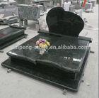 G684 chinese black granite stone monument