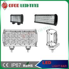 Top quality 4 row led light bar,216w 17'' cree 4 row led light bar