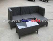 Multifunctional outdoor garden outdoor rattan outdoor plastic sofa