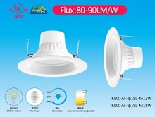 UL,TUV,CUL,Energy Star LED Downlight E26 E27 base for USA market replace traditional led downlights