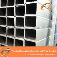 rectangular galvanized steel pipe for building and greenhouse/square galvanized steel pipe