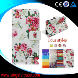 wholesale cell phone cases leather flip cover case for htc desire 820