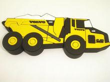 Customized customer shape and customer logo soft pvc truck usb