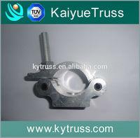 Aluminum truss pipe and drape hardware
