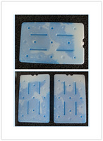 chilled box freezer ice cool ice box1.8-2L large ice pack food use ice cooler box freezing in refrigerated container