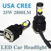 2014 hiway led car headlight fog light high power USA CREE led car headlight h4 hi lo