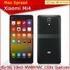 13MP Xiaomi Mi4 M4 2.5GHz 3080mAh 3GB RAM 16GB/64GB ROM quad core xiaomi mobile