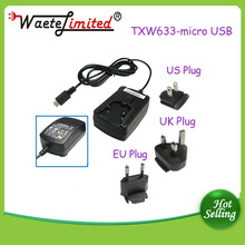 wall mounted type electric charger convenient for travel 5V 1A/2A