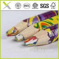wooden rainbow color pencil