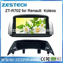 ZESTECH best price Car DVD Gps Navigation for Renault Koleos Car DVD Gps Navigation with GPS,buletooth,ipod,RDS,3G +factory