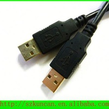 Standard USB 2.0 Male to Female cable high speed chrome usb 2.0