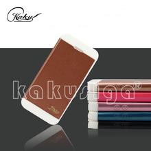 Kakusiga professional flip leather anti-shock case for iphone 4g