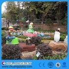 C&Q Amusement rides, Electrical Elephant Train Outdoor Playground Train Set