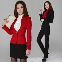 2014 New fashionable formal woman suits/formal office dresses for women/ladies designer skirt suits