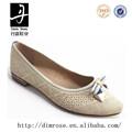 Db1056f-d2115 zapatos planos de cuero cuadros de mujeres zapatos