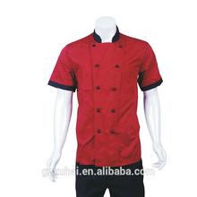Western red fashion restaurant uniform/chef uniforms