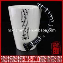 HOT Ceramic 11oz Nose straight kids drinking gift mug cup