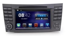 Android 4.2.2 Car DVD for Mercedes Benz E-Class W211 02-09 E320 E500 CLK CLS W219 W209 G-Class W463 dual Core CPU:1.6G RAM:1G 3G