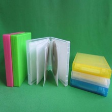high quality 25mm pp mutil colorful dvd cd holder with cd sleeve
