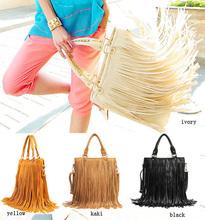 fashion tassel designer handbag for ladies