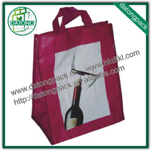 Best seller non woven fabric wine bag shopping