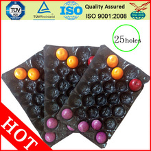 Soft Protecting Blister Fruit earthquake Tray 25 holes