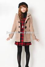 Korea new design winter fashion coat, wholesale price women coat #OF166