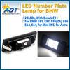 Two Years Warranty License Plate Light SMD LED kit No Error For BMW E81 E87 118i 120i 130i E85 E86 Z4 M