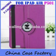 Factory Wholesale 360 degree rotating case for ipad 5 ipad air
