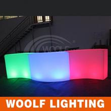led curved bar nightclub furniture bar counter