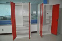modern metal wardrobe closet/clothes cabinet design/clothes almirah
