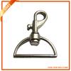 Zinc alloy metal snap buckle hook for handbag