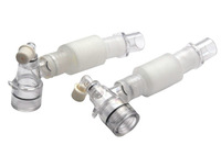 disposable breathing pipe/tube/circuit with luer port