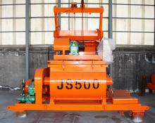 High-quality cheap price double horizontal shafts auto JS500 concrete mixer mini concrete mixer hot sale in the market